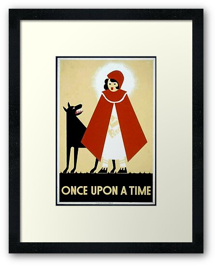 Once Upon a Time art cards and prints by BettyBanana