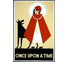Once Upon a Time art cards and prints Photographic Print