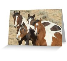 Painted Sisters-Signed-2603 Greeting Card