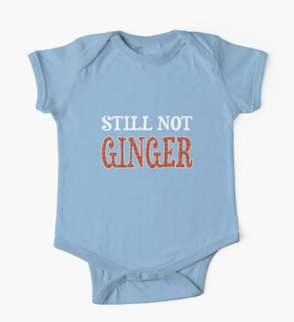 Still Not Ginger One Piece - Short Sleeve