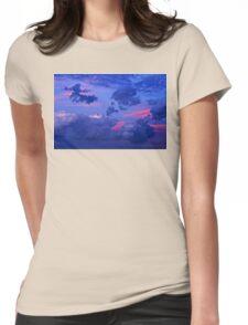 Sierra Blanca Sunset III Womens Fitted T-Shirt