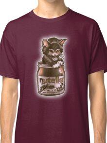 Kitten <3 Nutella Classic T-Shirt