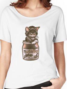 Kitten <3 Nutella Women's Relaxed Fit T-Shirt