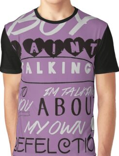 Reflection Typography Graphic T-Shirt