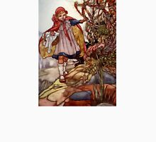 """""""Little Red Riding"""" by Charles Robinson Unisex T-Shirt"""