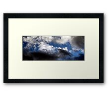 Clouds over Peebles Boxing Day 2011 Framed Print