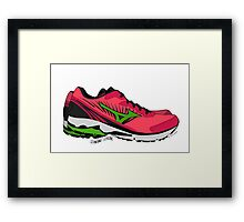 Wendy Davis Shoes Framed Print