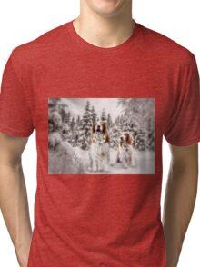 Bark the Herald Angels Sing...... Tri-blend T-Shirt