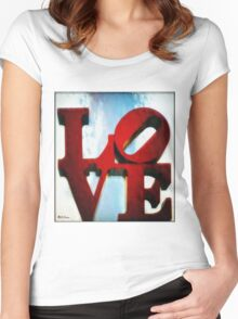 Fountain of Love Women's Fitted Scoop T-Shirt