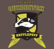 Hufflepuff Quidditch (3) by forcertain