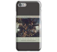 U.S. Infantry Vintage Poster iPhone Case/Skin