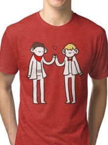 Merlin and Arthur Tri-blend T-Shirt