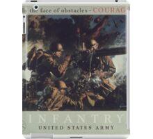 U.S. Infantry Vintage Poster iPad Case/Skin