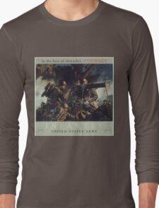 U.S. Infantry Vintage Poster Long Sleeve T-Shirt