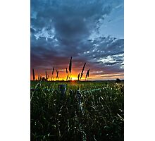 Corner Sunset Photographic Print