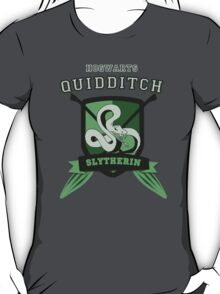 Slytherin Quidditch (3) T-Shirt