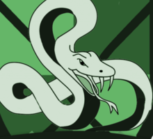 Slytherin Quidditch (3) Sticker