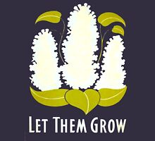 Let Them Grow clothing Womens Fitted T-Shirt