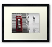 London (Vectorillustration) Framed Print