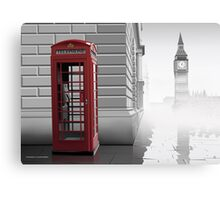 London (Vectorillustration) Canvas Print