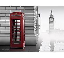 London (Vectorillustration) Photographic Print