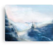 Mountain Castle Canvas Print
