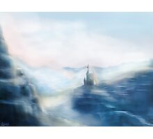 Mountain Castle Photographic Print