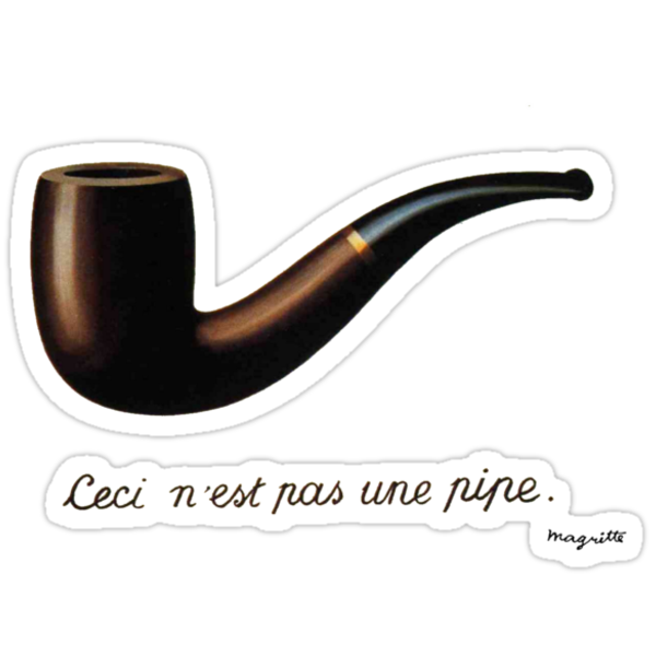 ceci n'est pas une pipe by geotasi