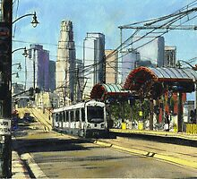 1st Street Train Station LA by Randy Sprout