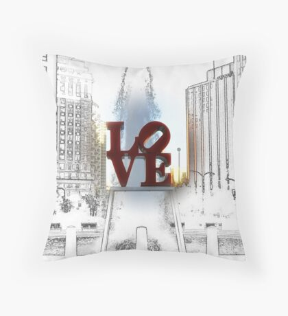It's Only Love Throw Pillow