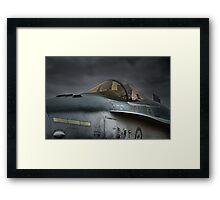 RAAF Jet Fighter Bomber - McDonnell-Douglas F/A-18 Framed Print