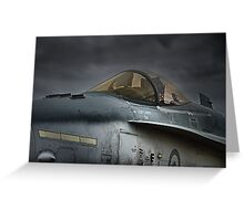 RAAF Jet Fighter Bomber - McDonnell-Douglas F/A-18 Greeting Card