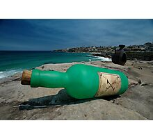 One Green Bottle @ Sculptures By The Sea Photographic Print