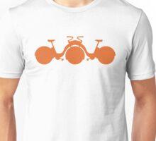 Orange Tricycle Unisex T-Shirt