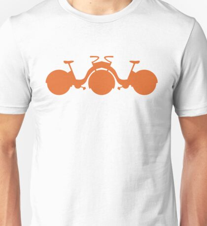 Orange Tricycle Unisex T-Shirt