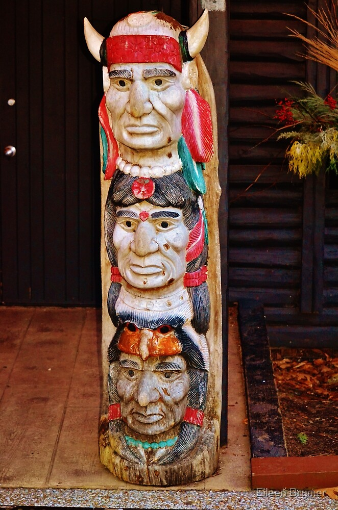 A Totem Pole by Eileen Brymer