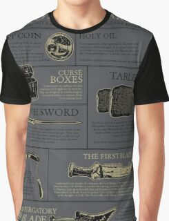 The Hunters Guide to Mystical Artifacts Graphic T-Shirt