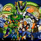 Dragonball Z Cell Saga by J. Danion