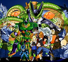 Dragonball Z Cell Saga by J. Danion