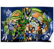 Dragonball Z Cell Saga Poster