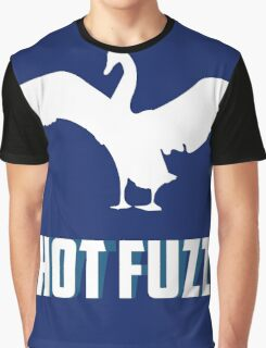 Hott Fuzz Minimal Graphic T-Shirt