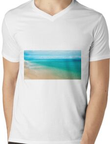 View from Tangalooma Island beach. Mens V-Neck T-Shirt