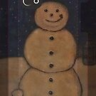 The Snowman iphone case by vigor