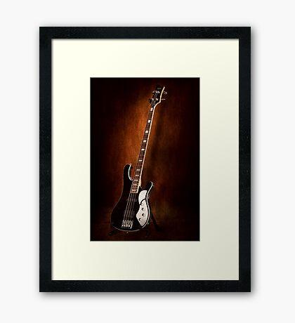 Instrument - Guitar - High strung Framed Print
