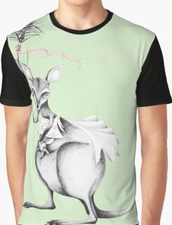 Wallaby warrior Graphic T-Shirt