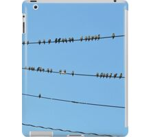 Starling convention iPad Case/Skin