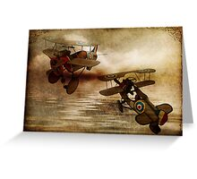 Shadows From the Sky Greeting Card