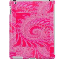 Touch Of Pink Abstract Art iPad Case/Skin