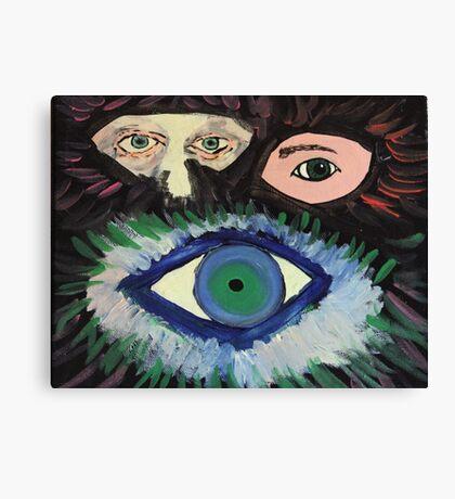 Eye Eye Eye Eye Canvas Print