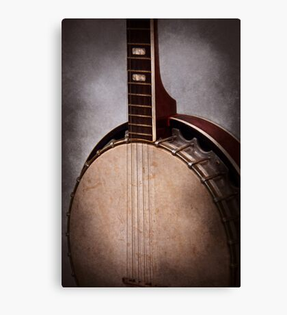 Instrument - String - A typical banjo  Canvas Print